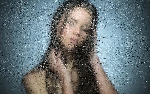 hot shower photo