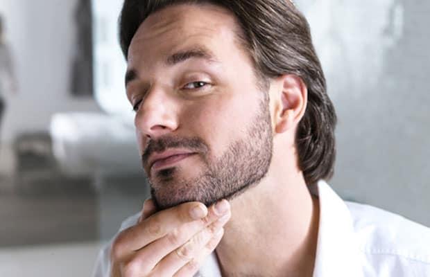 homens com barbas